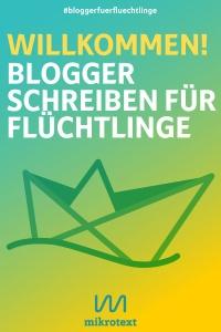 Cover - Willkommen! Blogger schreiben für Flüchtlinge